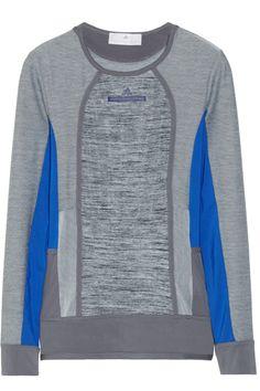 Adidas by Stella McCartney|Studio paneled Climalite® stretch top.