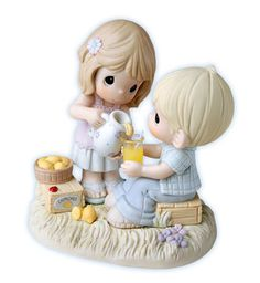 """Precious Moments Figurine """"Life is Sweeter with You"""" True Love Figurine $65.00"""