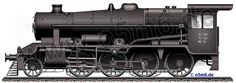 Engines of the Red Army in WW2 - WD Stanier 8F