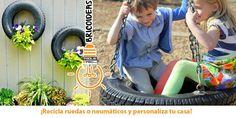 ¡Ideas para reciclar neumáticos! http://es.tools4pro.com/blog/105_reciclar-neumaticos-tools4pro… #tools4pro #herramientas #bricoidea
