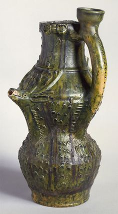 Puzzle Jug from the 1300s! What a great photo.