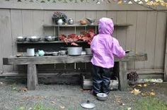 mud kitchens - Google Search