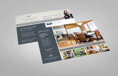 Realtor direct mail design. Desrochers Realty Group.
