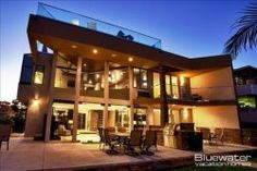 Where we'll call home on Easter Break! Bluewater Vacation Homes: Villa on the Bay - San Diego, California