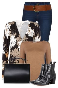 """""""Untitled #20970"""" by nanette-253 ❤ liked on Polyvore featuring Hobbs and Ganni"""