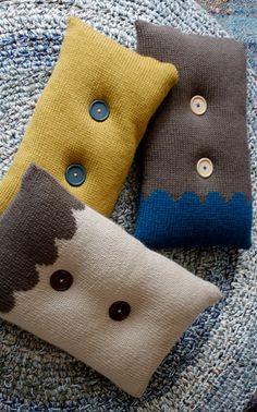 Knitted pillows http://www.novita.fi/public/neuleohjeet/mallit/syksy_2013