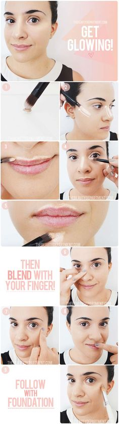 Best Contouring Tips and Tutorials - How to Highlight - Looking For The Best Contouring Tutorial, Kit or Products For Your Makeup Routine? You Have To See This Drugstore Bronzer, The Powder and Cream That These Tutorials Use To Show You How To Do Your Own Step By Step DIY Contouring At Home. Try A Different Palette Or Contouring Stick Today After Watching These Tutorials - thegoddess.com/contouring-tips-tutorials