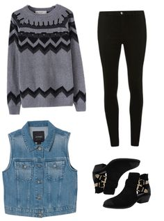 Casual outfit for school