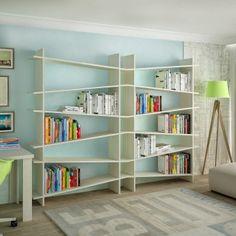 AngledSHELF Bookshelf by Kemal Yıldırım