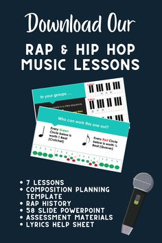 Creative Teaching, Teaching Ideas, Rap History, Primary Teaching, Middle School Teachers, Character Education, Rap Music, Music Lessons, Learning Resources