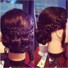 Bella Swans bridal hair style