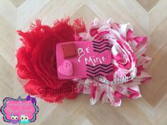 A personal favorite from my Etsy shop https://www.etsy.com/listing/217220099/valentines-day-hair-bow-be-mine-clay