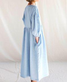 Hijab Fashion, Fashion Dresses, Muslim Fashion, Linen Dresses, Slow Fashion, Designer Dresses, What To Wear, Stylish, My Style