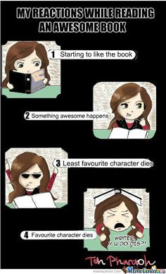 While Reading Books