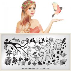 MoYou London - Mother Nature Plate Collection 07