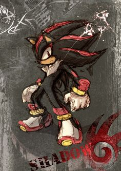 Shadow! Going to be a human version of him!