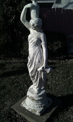 wow....what a statue for the garden!