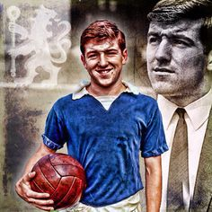 Terry Venables - Chelsea FC Chelsea Football, Chelsea Fc, Stamford Bridge, Fulham, Editing Pictures, Legends, The Past, Raquel Welch, Ticket