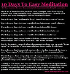 10 days to easy meditation