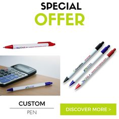 La #penna personalizzata è da sempre uno dei #gadget più scelti: economica, personalizzabile, utile e sempre sotto gli occhi di tutti.  Un ottimo modo per farsi pubblicità, spendendo poco! Solo per pochi giorni la trovi ad un prezzo speciale. Scopri di più: http://www.sadesign.it/it/promozione