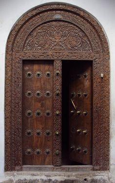 Antique Wooden Carved Door Intricate India Pinterest