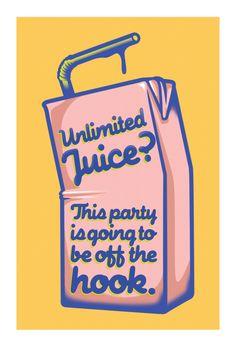 unlimited juice?