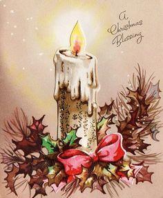 Pretty Layered Christmas Card 53Q | eBay