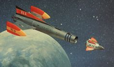 Image from the Gerry Anderson television series, FIREBALL Timeless Series, Thunderbirds Are Go, Sci Fi News, Sci Fi Comics, Lost In Space, Kids Tv, Science Fiction Art, Movie Props, Retro Toys