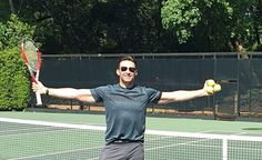 @RealHughJackman   Tennis anyone? And by anyone- I mean you @DjokerNole !