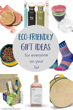 Eco-friendly gift ideas to cover everyone on your list! Including kids, pets, clean beauty lovers, home chefs and more. | #ecofriendly #gifts #kitchen #toys #pets Diy Gifts For Friends, Gifts For Teens, Mum Gifts, Teen Gifts, Sustainable Gifts, Sustainable Living, Holiday Gifts, Christmas Gifts, Christmas Ideas