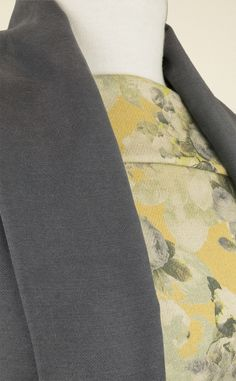 Versatile, draping-yet-robust pewter-grey viscose suiting fabric. A medium-weight, soft-handled suiting, perfect for trousers, skirts, jackets & even cross-season coats