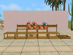 Mod The Sims - Outdoor Market Shelves