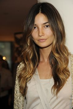 love her hair (ombre) color...