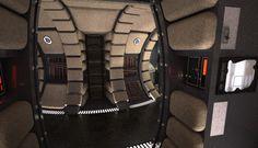 Screen Accurate Millennium Falcon Cockpit (CG Model) - Page 65 Star Wars Decor, Star Wars Art, Lego Star Wars, Lego Millenium Falcon, Milenium Falcon, Star Trek, Star Wars Design, Star Wars Girls, Ralph Mcquarrie