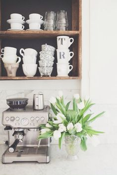 { love this coffee station }