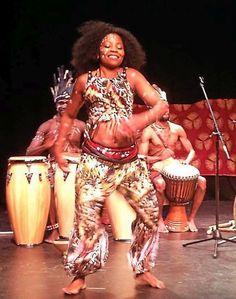 African Singer and Dancer - Georgette Adjie Beighle