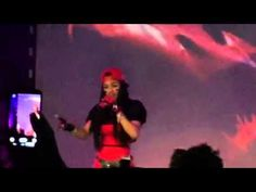 """Teyana Taylor performs """" Business """" live at SOBs 2015"""