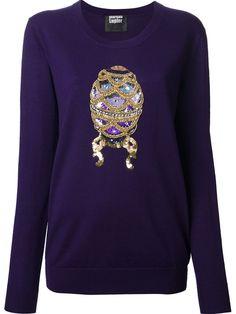 MARKUS LUPFER 'Embellished Egg' sequin 'Nat' sweater - £295 on Vein - getvein.com