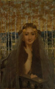 The Autumn Bride (c.1896) by Lucien Levy-Dhurmer