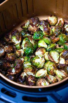 Air Fryer Brussel Sprouts - A Southern Soul Crispy Brussel Sprouts, Cooking Brussel Sprouts, Brussels Sprouts, Easy To Make Appetizers, Easy Food To Make, Appetizer Recipes, Frugal Meals, Easy Weeknight Meals, Quick Easy Meals