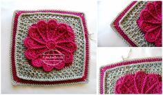 1 Inch Crochet Flower Pattern : Crochet Granny Squares on Pinterest Granny Squares ...
