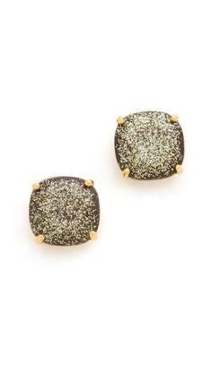 Kate Spade New York Small Square Stud Earrings | SHOPBOP