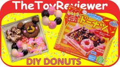 Check out the Kracie Happy Kitchen Donut DIY Candy Kit here: https://www.youtube.com/watch?v=7nbsE-9QfJ8