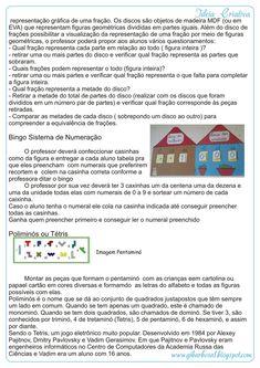Projeto Brincando se Aprende Matemática - Ideia Criativa