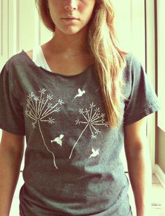 hand painted shirt!