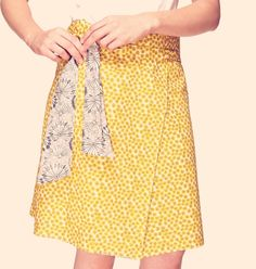 Download your revised Liberty Wrap Skirt pattern More