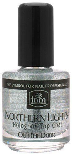 Northern Lights Hologram Top Coat by INM *** You can find out more details at the link of the image. (This is an affiliate link and I receive a commission for the sales) Holographic Nail Polish, Sexy Nails, Check Coat, Silver Tops, Skin Care Tools, Top Nail, Make Up Collection, Nail Manicure, Top Coat