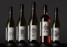 Left Field Wines — The Dieline - Branding & Packaging