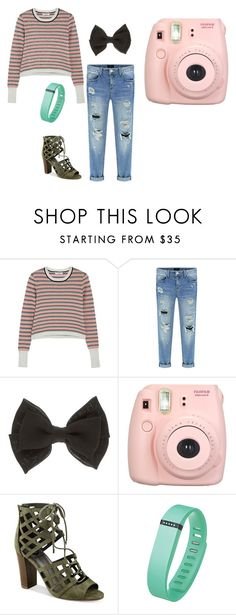 """Untitled #12944"" by jayda365 ❤ liked on Polyvore featuring Opening Ceremony, Fujifilm, G by Guess and Fitbit"