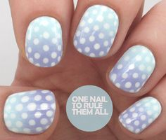 One Nail To Rule Them All: Barry M Gradient Dots